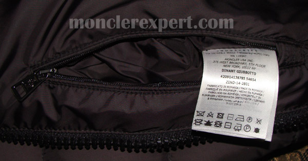 c7a8b04398f7 Moncler Expert - Other tags and details