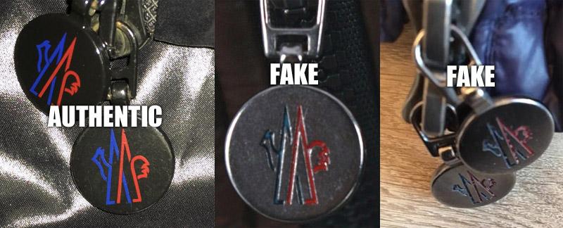 moncler zipper pull